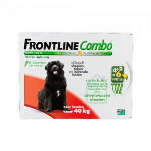 Frontline Combo Dog XL (40-60 kg) - 4 + 2 pipetten