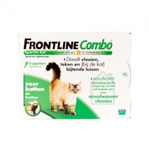 Frontline Combo Kat - 3 pipetten