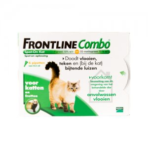 Frontline Combo Kat - 6 pipetten