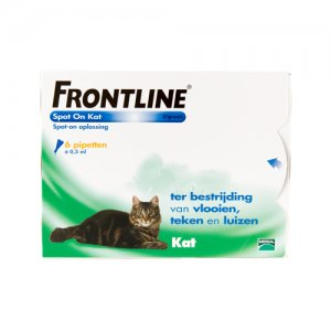 Frontline Spot On Kat - 6 pipetten