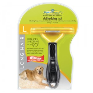 FURminator Hond Long Hair - L