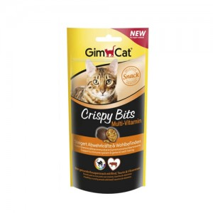 GimCat Crispy Bits Multi-Vitamin - 40 gram