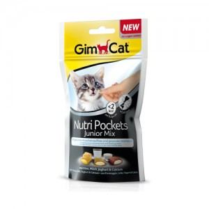 GimCat Nutri Pockets Junior Mix – 60 gram