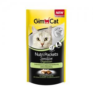 GimCat Nutri Pockets Sensitive Digestion - 50 gram