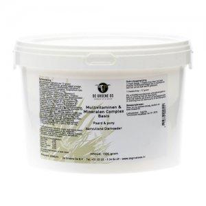 Groene Os Multivitaminen en Mineralen Complex Basis - Paard/Pony - 1,5 kg