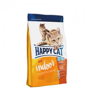 Happy Cat - Adult Indoor Atlantik-Lachs (Zalm) - 10 kg