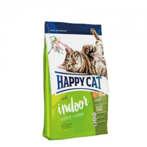 Happy Cat - Adult Indoor Weide-Lamm (Lam) - 300 g