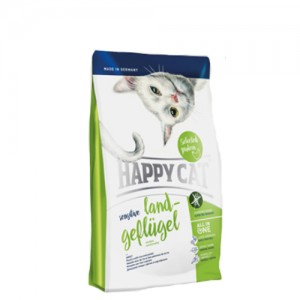 Happy Cat - Sensitive Grainfree Land-Geflügel (Gevogelte) - 4 kg