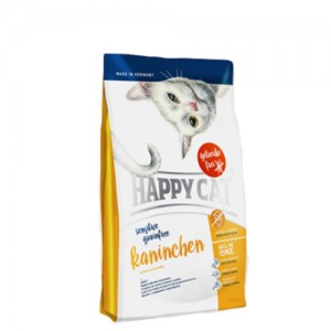 Happy Cat - Sensitive Grainfree Kaninchen (Konijn) - 4 kg