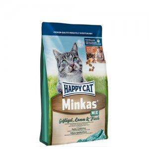 Happy Cat - Minkas mix (Geflügel, Lamm & Fisch) - 4 kg