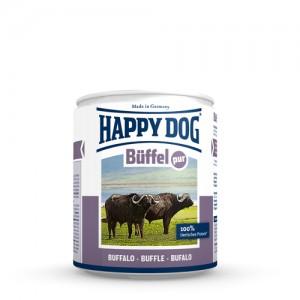Happy Dog Buffel Pur - buffelvlees - 6x800g
