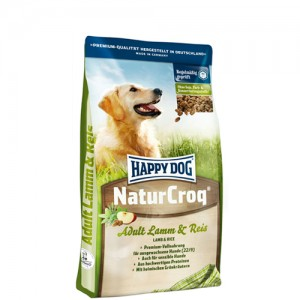 Happy Dog NaturCroq Lamm & Reis (lam en rijst) – 4kg