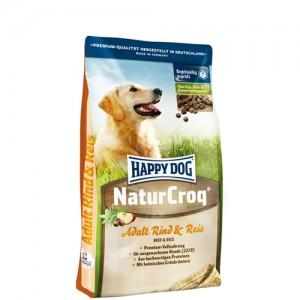 Happy Dog NaturCroq Rind & Reis (Rund en Rijst) – 4 kg