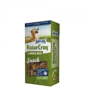 Happy Dog NaturCroq Snacks – Lamm & Reis – 5 x 350g