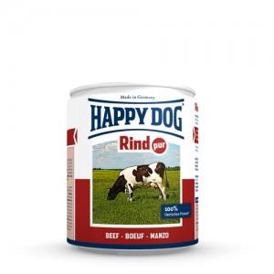 Happy Dog Rind Pur – rundvlees – 12x200g