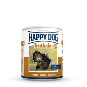 Happy Dog Truthahn Pur - kalkoenvlees- 12x400g