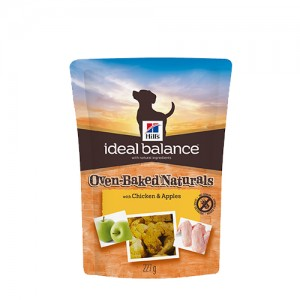 Hill's Ideal Balance – Canine Adult Treats: Chicken & Apples 227g