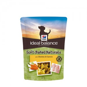 Hill's Ideal Balance – Canine Adult Treats: Chicken & Carrots 227g