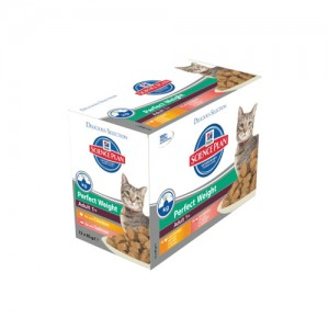 Hill's Science Plan Feline Adult Perfect Weight Del. Selection 12x85g