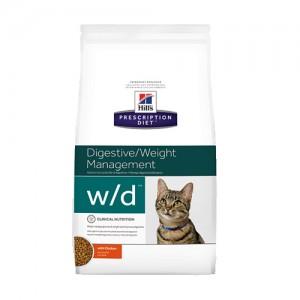 Hill's w/d - Low Fat/Diabetes/Colitis - Feline - 5 kg kopen