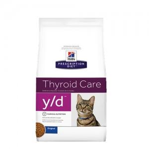 Hill's prescription diet feline y-d schildklier