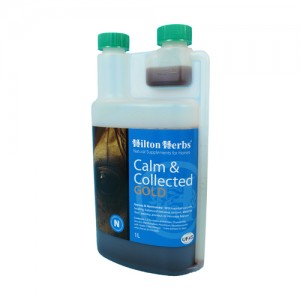 Hilton Herbs Calm & Collected Gold for Horses - 1 Liter