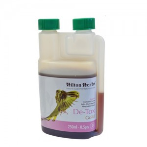 Hilton Herbs DE-TOX Gold for Birds - 250 ml