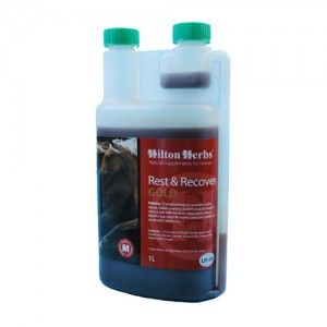 Hilton Herbs Rest & Recover Gold for Horses – 1 Liter
