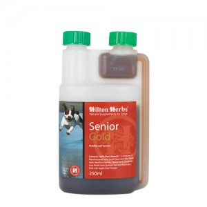 Hilton Herbs Senior Gold for Dogs - 250 ml