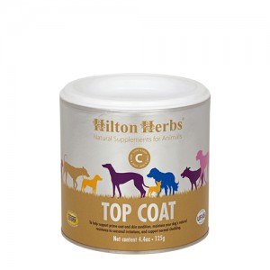 Hilton Herbs Top Coat for Dogs - 125 g