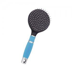 Hippo-Tonic Staart- en Manenborstel Comfort - Neon Blauw