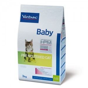 Veterinary HPM - Baby Pre Neutered Cat - 1.5 kg
