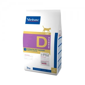 Veterinary HPM Dietetic Cat - Dermato 3 kg