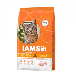IAMS Adult Cat Chicken 1.5 kg.