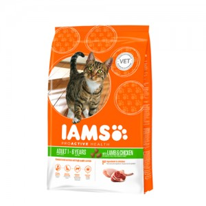 IAMS Adult Cat Lamb & Chicken 15 kg