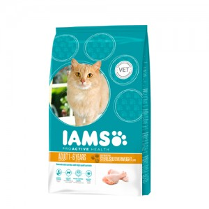 IAMS Adult Cat Light in Fat 2.55 kg.