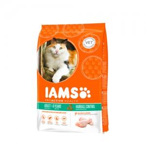 IAMS Cat Hairball 4x850g