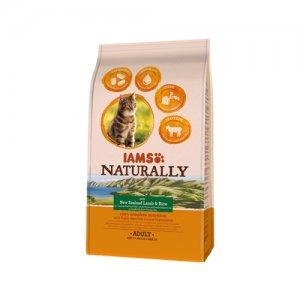 IAMS Naturally Cat - Lamb & Rice - 2,7 kg