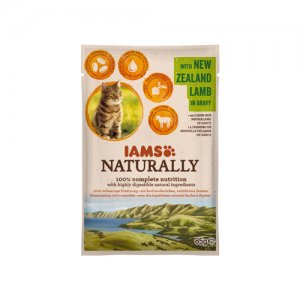IAMS Naturally Cat - New Zealand Lamb in Gravy 24 x 85 g