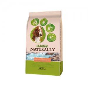 IAMS Naturally Dog - Salmon & Rice - 7 kg