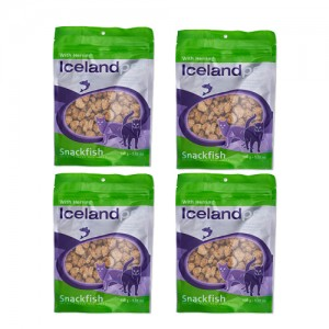 Iceland Pet Cat Treat Herring - 4 x 100g