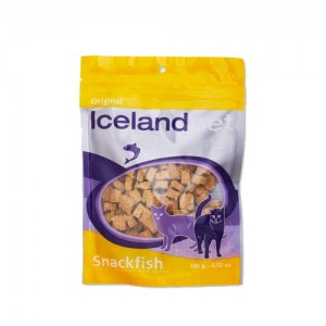 Iceland Pet Cat Treat Original Snackfish 1 x 100g