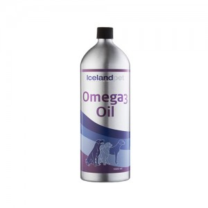 Iceland Pet Omega-3 Oil - 1000 ml