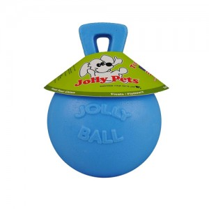 Jolly Ball Tug-n-Toss - Small (4.5 inch) 10 cm baby blauw