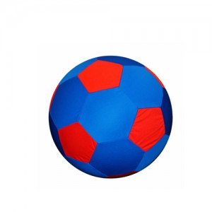 Jolly Mega Ball Cover (30 inch) 75 cm rood/ blauw