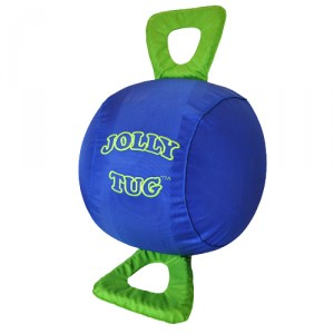 Jolly Tug Ball Equine - 35 cm - Blauw