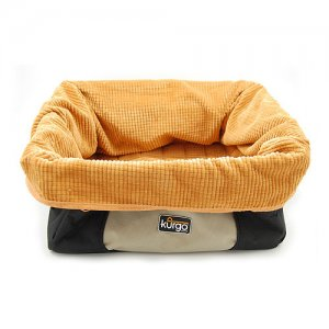 Kurgo Skybox Booster Seat - Zwart/Oranje