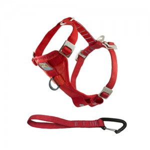 Kurgo Enhanced Tru-Fit Smart Harness – Rood – S