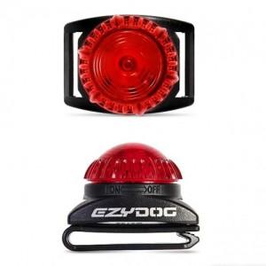 EzyDog Adventure Light – Large – rood