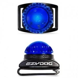EzyDog Adventure Light – Large – blauw